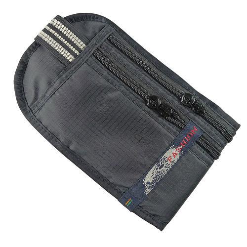 PUSH!嚴選 5艙室 防搶包 防盜腰包 護照包 隱形貼身腰包 FASHION