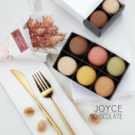 JOYCE巧克力工房 法國直送馬卡龍6入禮盒