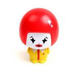 (任選)大頭公仔娃娃迷你安全小風扇-紅黃
