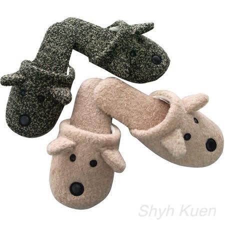 任選【MORINO】造型室內拖鞋(成人)