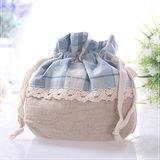 魔法Baby ~可愛日本風拼布束口小物包~~f0035