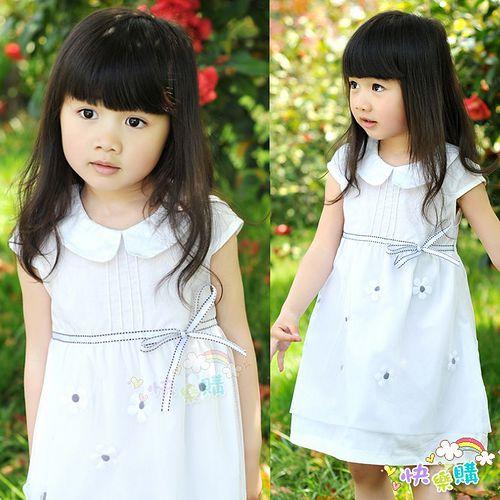 夏日《翻領網紗款-白色》甜美氣質小洋裝【現貨+預購】