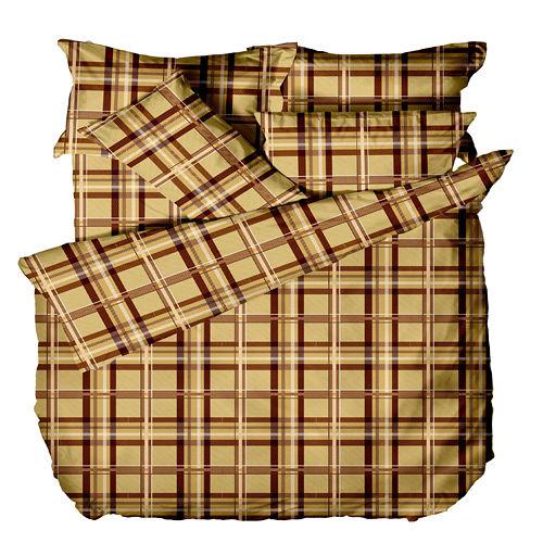 《格韻夢想》100%純棉雙人四件式床包被套組(台灣製)