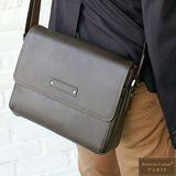 【Roberta Colum】新款時尚鉚釘軟牛皮多功能斜背包