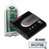 曜兆DIGITUS HDMI ~DS-44302二入一出切換器【加送USB3.0 4G隨身碟】