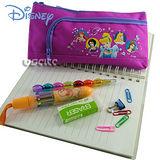 Disney迪士尼白雪公主筆袋化妝包-桃紅色