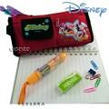 Disney迪士尼mickey米奇筆袋化妝包-紅色