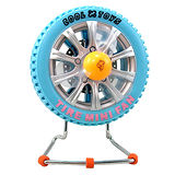【iSFun】飆風輪胎可充電造型風扇