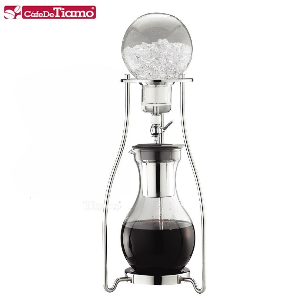 Tiamo #13不鏽鋼冰滴冰釀咖啡壺-10杯-1200ml (HG2605)