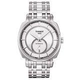 TISSOT T-Lord 獨立小秒針機械腕錶(T0595281103100)-銀/40mm