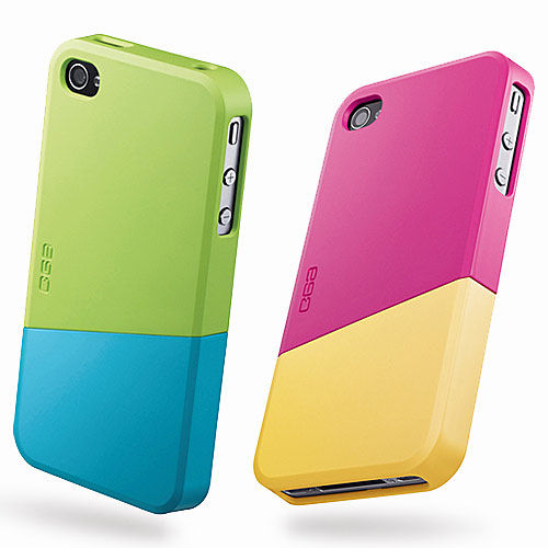Ego Slide Case for iPhone 4  4S 雙色 保護殼