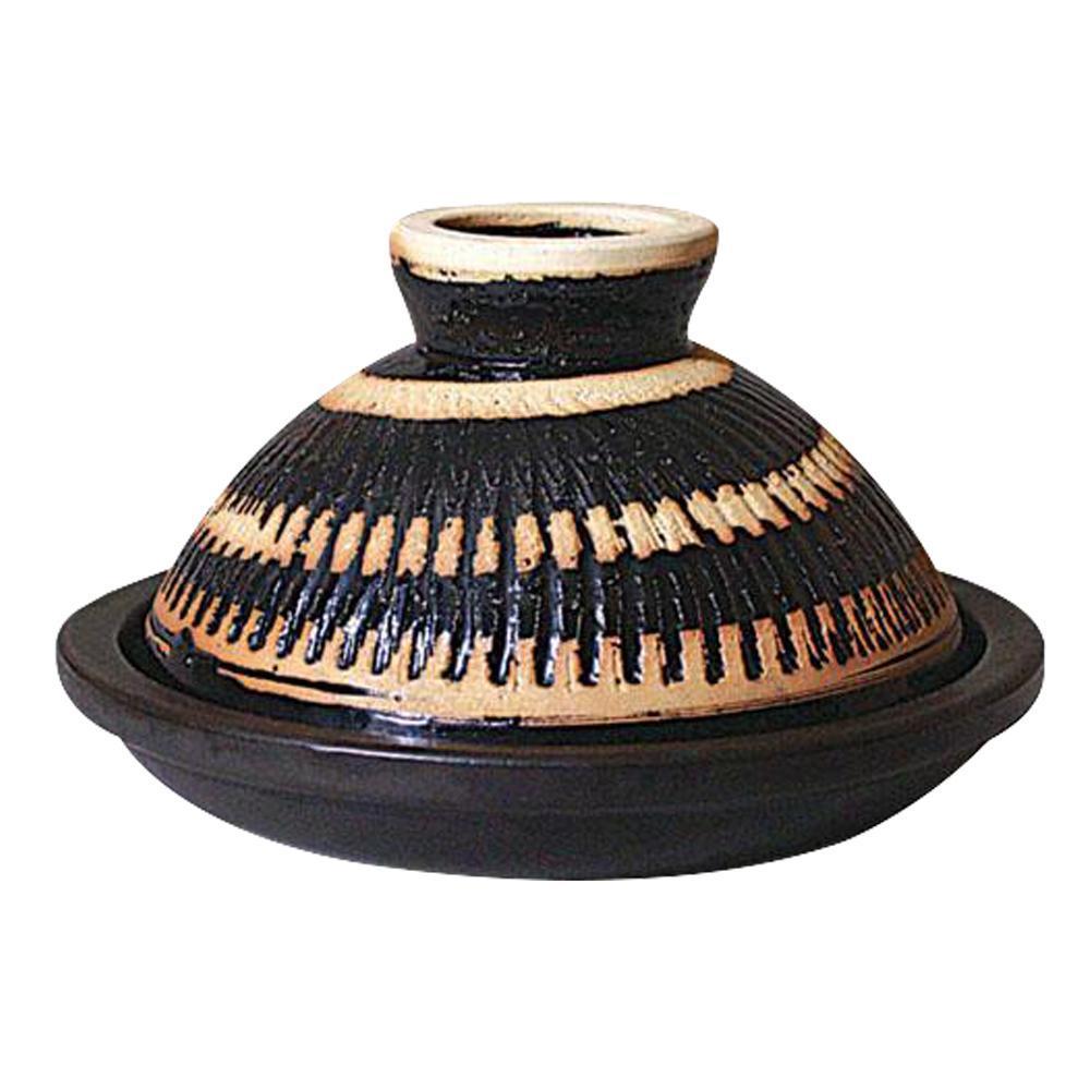 【日本長谷園伊賀燒】多功能調理摩洛哥蒸煮鍋(小1-2人)