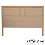 【Maslow-流行白橡加高型】加大床頭片-6尺