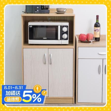 雙門廚房收納櫃