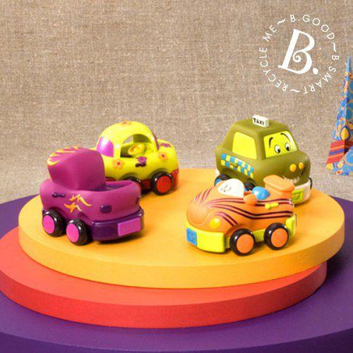 【美國B.Toys感統玩具】寶寶迴力車