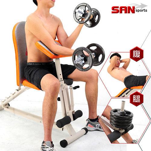 【SAN SPORTS】第二代怪力重量訓練機C080-6007