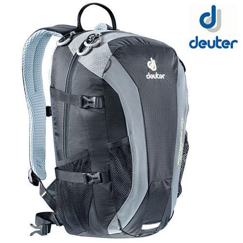 【德國 Deuter】Speed Lite 20L 輕量級透氣登山健行背包/33121 黑/灰