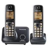 【Panasonic國際牌】2.4G數位大字體雙手機無線電話KX-TG3712經典黑