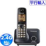 國際牌Panasonic新款斷電可用2.4G數位大字體無線電話KX-TG3711經典黑
