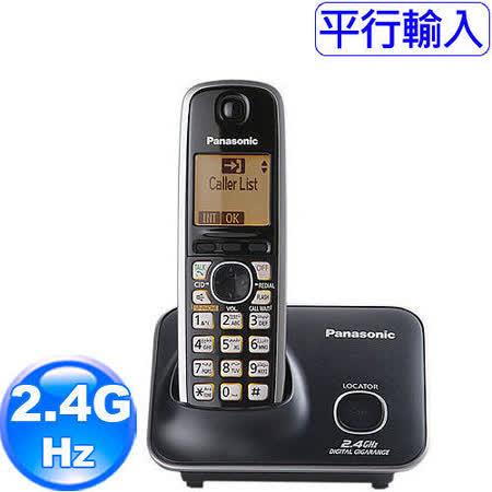 國際牌Panasonic新款斷電可用2.4G數位大字體無線電話KX-TG3711經典黑 -friDay購物