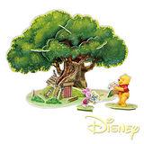 《購犀利》美國品牌【Disney】迪士尼系列益智立體拼圖-小熊維尼的樹屋