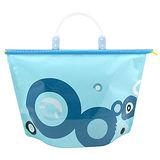 【iSFun】蔚藍圓點*密封式防水提包