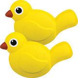 《KIKKERLAND》Clips 動物對話封口夾子組(鳥2入)