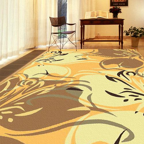 【范登伯格】奧斯汀光澤絲質感地毯-蝶語(共三色)140x200cm