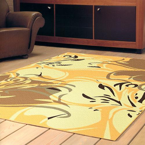 【范登伯格】奧斯汀光澤絲質感地毯-蝶語(共三色)70x120cm