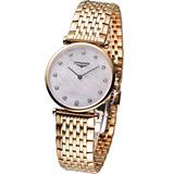 LONGINES 永恆浪漫風采腕錶(L45121878)