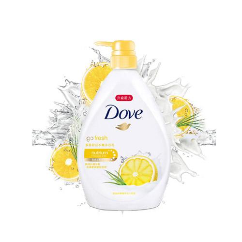 多芬Dove舒活水嫩沐浴乳1L
