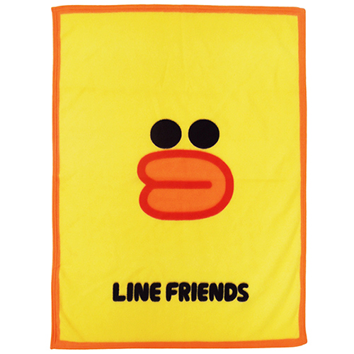 【享夢城堡】LINE FRIENDS Sally莎莉刷毛毯(2入)