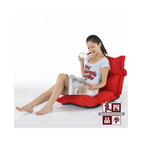 【四季良品】澎澎休閒和室椅(共2色)-紅