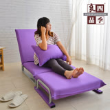【四季良品】紫色嘉年華單人沙發床/椅
