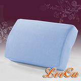 【LooCa】吸濕排汗釋壓午安枕(粉藍)