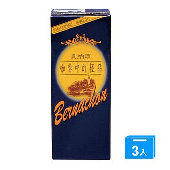 貝納頌咖啡375ML*3