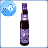 黑龍黑豆(全素)薄鹽蔭油膏400ml*6瓶-網