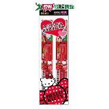 EBISU-Hello Kitty3~6歲兒童牙刷2入