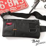 DF【Bag school】旅遊小幫手貼身腰包(共2色)