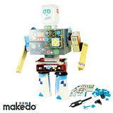 澳洲 makedo 美度扣 - 引導創意【機器人學習款】33 pcs 工具組