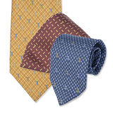 TRUSSARDI 絲質時尚領帶-多款任選均一價