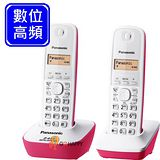 Panasonic 2.4GHz數位無線電話 KX-TG3412 (蜜糖粉)