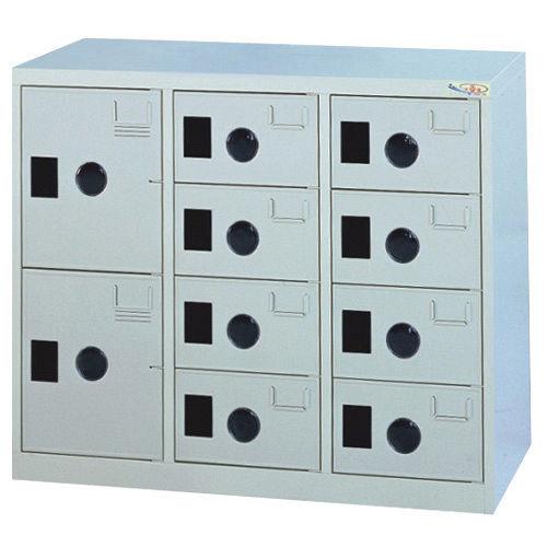 HAPPYHOME~免組裝~多用途 鋼製10格置物櫃MC~1010A