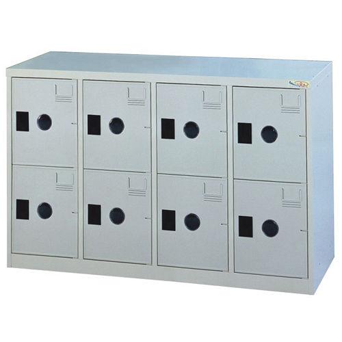HAPPYHOME~免組裝~多用途 鋼製8格置物櫃MC~2008A