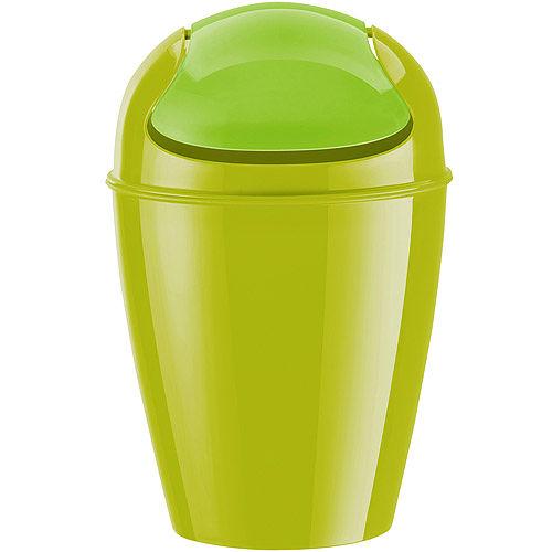 《KOZIOL》Del搖擺蓋垃圾桶(綠M)