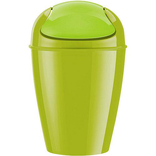 《KOZIOL》Del搖擺蓋垃圾桶(綠XL)