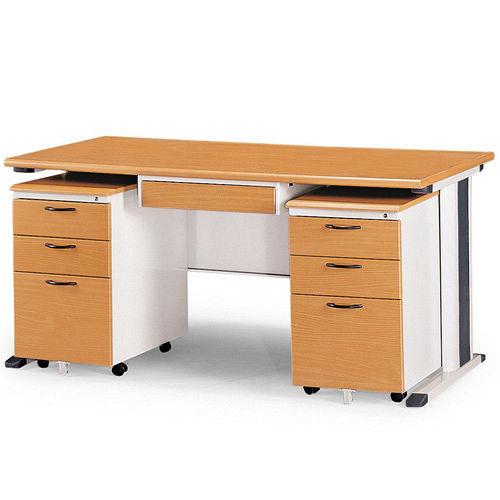 SKH木紋辦公桌櫃組258-1(150)