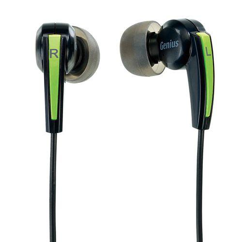 Genius HS-M220 密閉型立體聲噪音隔絕式耳機麥克風 (綠色)