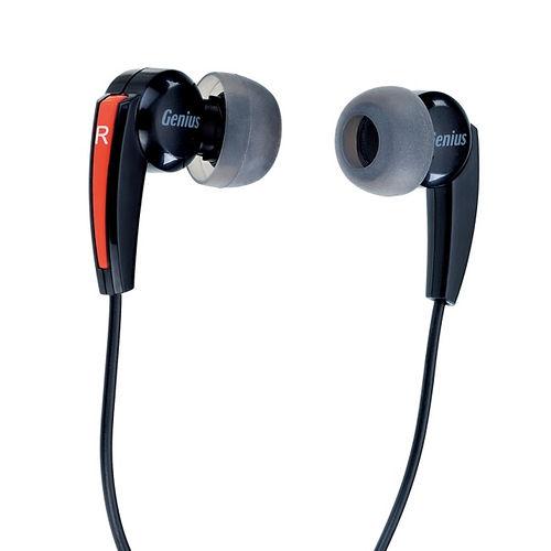 Genius HS-M220 密閉型立體聲噪音隔絕式耳機麥克風 (紅色)