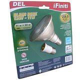 【未來之光】LED11W-Par燈-燈泡-附一個E27加長頭-黃光-2入組/2盒透明包裝